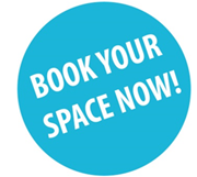 BOOK YOUR SPACE NOW!